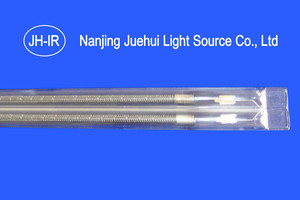 Carbon Medium-Wave twin tube Infrared Lamp